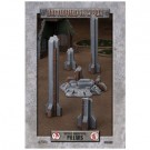 Battlefield In A Box - Gothic Industrial Ruins - Pillars BB600