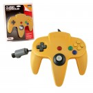 TTX N64 Classic Controller Yellow - pults