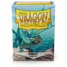Dragon Shield Standard Sleeves - Matte Mint (100 Sleeves) 11025