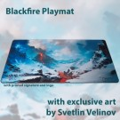 Galda spēle Blackfire Playmat - Svetlin Velinov Edition Mountain - Ultrafine 2mm BFPM403501
