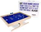 KLASK: Half Table Football, Half Air Hockey Party Game /Boardgame