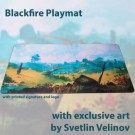 Galda spēle Blackfire Playmat - Svetlin Velinov Edition Plains - Ultrafine 2mm BFPM403525