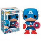 Funko POP! Marvel 75th Anniversary - Captain America with Photon Shield Vinyl Figure Bobble Head 10cm FK10128