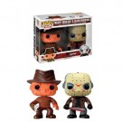 Funko POP! Horror - Freddy Krueger & Jason Voorhees 2-Pack Vinyl Figure 10cm limited FK12001