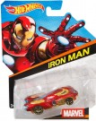 Hot Wheels Marvel Character Cars - Iron Man