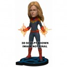 Avengers: Endgame - Head Knocker - Captain Marvel 20cm NECA61789