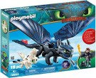 DreamWorks Dragons – Hiccup and Toothless with Baby Dragon /Toys