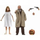 Halloween 2 - Doctor Loomis & Laurie Strode 2-Pack Clothed Action Figures 20cm NECA60646