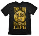 T-Shirt Temple Run For Your Life (S, M, L, XL) T-krekls