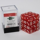 Blackfire Dice Cube - 12mm D6 36 Dice Set - Transparent Red 91692