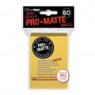 UP - Small Sleeves - Pro-Matte - Yellow (60 Sleeves) 84268