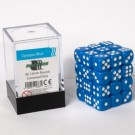 Blackfire Dice Cube - 12mm D6 36 Dice Set - Opaque Blue 91683