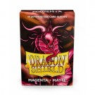Dragon Shield Japanese Matte Sleeves - Magenta (60 Sleeves) 11126