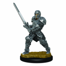 D&D Icons of the Realms Premium Figures: Male Human Fighter (6 Units) WZK93017