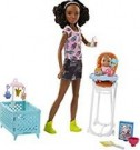 Barbie - Sisters Babysitters Playset /Toys