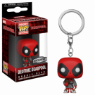 Funko POP! Keychain: Deadpool Playtime-Deadpool Bath Robe Vinyl Figure 4cm Limited FK31733
