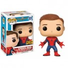 Funko POP! Marvel Spider-Man Homecoming The Movie - Unmasked Spider-Man Figure 10cm limited FK13314