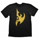 Starcraft II T-Shirt - Protoss Logo Vintage Yellow - Size S GE1886S