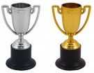 MINI 10CM GOLD AND SILVER TROPHY ASST N05297