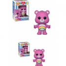 Funko POP! Care Bears - Cheer Bear Vinyl Figure 10cm Assortment (5+1 chase figure) FK26698case