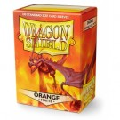 Dragon Shield Standard Sleeves - Matte Orange (100 Sleeves) 11013