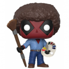 Funko POP! Deadpool - Deadpool Bob Ross Vinyl Figure 10cm FK30865