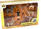 African Safari Action Figure Playset /Toys