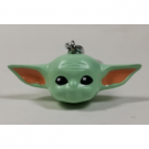 3D Polyresin Keychain - Star Wars: The Mandalorian (The Child) RKR39166