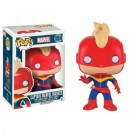 Funko POP! Marvel - Captain Marvel Masked Vinyl Figure 10cm limited FK7262