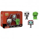 Funko Pocket POP! Disney - Nightmare Before Christmas Tin feat. Jack, Sally and Oogie Boogie vinyl figures 4cm FK5314