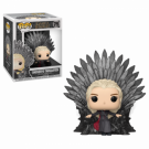 Funko POP! Deluxe GOT S10 - Daenerys Sitting on Throne Vinyl Figure 10cm FK37792