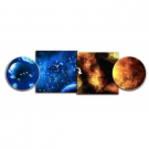 Battlefield In A Box - Gaming Mat - Ice Comets / Fiery Nebula BB953