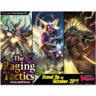 Cardfight!! Vanguard V - The Raging Tactics Extra Booster Display (12 Packs) - EN VGE-V-EB09-EN