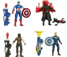Captain America 3.75in Super Soldier Figures Ast - Toy