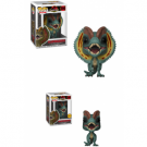 Funko POP! Jurassic Park - Dilophosaurus Vinyl Figure 10cm Assortment (5+1 chase figure) FK26736case