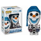 Funko POP! Disney Olaf's Frozen Adventure - Olaf with Cats Vinyl Figure 10cm FK21573