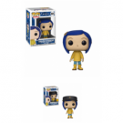 Funko POP! Coraline: Coraline in Raincoat Vinyl Figure 10cm Assortment (5+1 chase figure) FK32813case