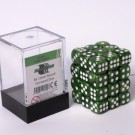 Blackfire Dice Cube - 12mm D6 36 Dice Set - Marbled Jade Green 91720