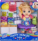 Baby Alive - Happy Hungry Baby Blonde Curly Hair /Toys