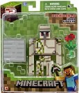 (D) MineCraft Iron Golem 3inch action figure (Damaged Packaging) /Toy