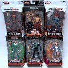 Marvel Legends Series Spider-Man Build a Figure Collection Demogoblin Series 6-inch Action Figures Assortment (8) E74575L00