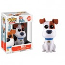 Funko POP! Movies - The Secret Life of Pets: Max Flocked Vinyl Figure 10cm limited FK10256