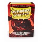 Dragon Shield Standard Sleeves - Crimson (100 Sleeves) 10021