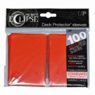 UP - Standard Sleeves - PRO-Matte Eclipse - Apple Red (100 Sleeves) 85604