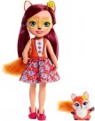 Enchantimals - Large 30 cm Felicity Fox & Flick /Toys