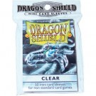 Dragon Shield Small Sleeves - Clear (50 Sleeves) 10101