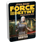 FFG - Star Wars RPG: Force and Destiny - Arbiter Specialization Deck - EN FFGuSWF37