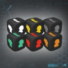 Galda spēle Endure the Stars: Character Colour Matched Injury Dice ETS-CD