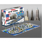 4D Cityscape - New York, USA Puzzle 40010