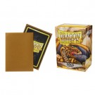 Dragon Shield Standard Sleeves - Matte Gold (100 Sleeves) 11006